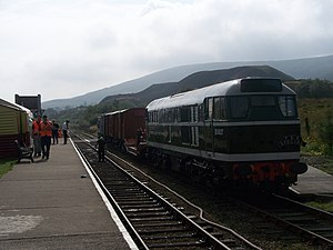 Pontypool and Blaenavon Railway - British Rail Class 31 D5627 at Furnace Sidings