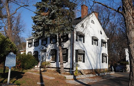 DEMAREST-BLOOMER HOUSE, NEW MILFORD, BERGEN COUNTY NJ