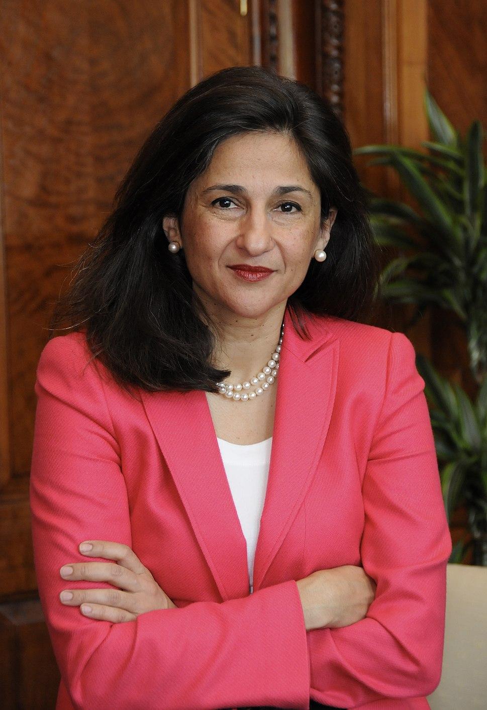 DFIDs Permanent Secretary, Nemat Minouche Shafik (4624168174)