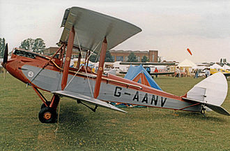 De Havilland DH.60 Moth - DH.60 Moth built in 1931 in France under licence by Morane-Saulnier