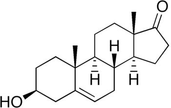 chemical structure of dehydroepiandrosterone (...