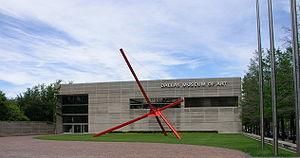 Dallas Museum of Art - Mark di Suvero, Ave, Dallas Museum of Art sculpture garden