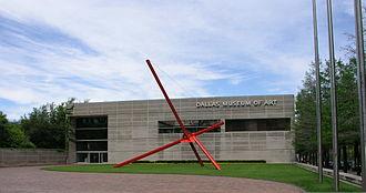 Dallas Museum of Art - Mark di Suvero, Ave, Dallas Museum of Art sculpture garden