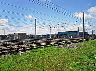Carlisle Kingmoor TMD - DRS Kingmoor Depot