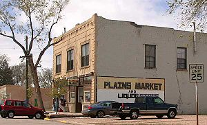 Pierce, Colorado - Grocery store on Main Street in Pierce, Colorado