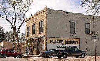 Pierce, Colorado - Grocery store on Main Street in Pierce, Colorado