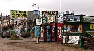 Pine Junction, Colorado - Commercial area along US 285 in Pine Junction