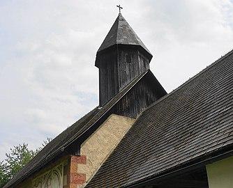 Dachreiter Kath. Filialkirche hl. Magdalena, Feistritz an der Gail, Kärnten.jpg