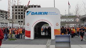 Galatasaray S.K. (women's volleyball) - Daikin, Official Sponsor of Galatasaray SK, Ali Sami Yen Sports Complex