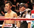 Daisuke Naitō & Hiroyuki Miyata on the ring.jpg