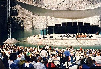 Sylvan theater - Dalhalla 1997, in Sweden