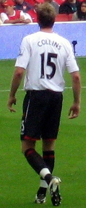 Danny Collins (footballer) - Collins in action for Sunderland