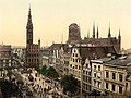 Danzig Langen Markt und Rathaus (1890-1900).jpg