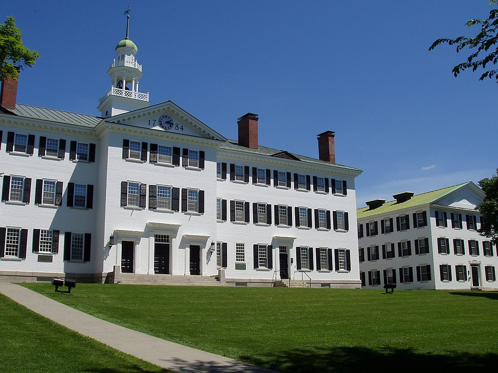 Dartmouth Hall, Dartmouth College - general view