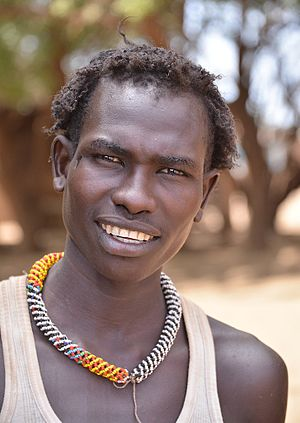 Daasanach people - A Daasanach man