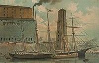 David Dows (schooner) - Union Railroad Elevator Company, Toledo, Ohio .jpg