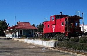 DeFuniak Springs, Florida - Image: De Funiak Caboose