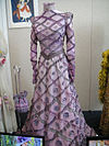 "Debbie Reynolds Auction - Barbara Streisand dress and purse from ""Hello, Dolly!"".jpg"