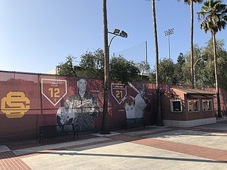 Dedeaux Field - Image: Dedeaux Field Mark Mc Gwire Way