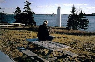 Deer Island (New Brunswick) - Image: Deer Island Point cargo