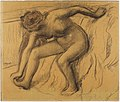 Degas - После ванны. Конец 1880-х — начало 1890-х гг.jpg