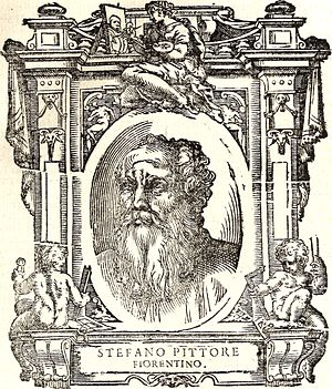 "Stefano Fiorentino - ""Stefano Pittor, Fiorentina"", an imaginary portrait from Vasari's ''Vite''"