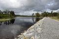 Demningen i sørenden av Buvatnet i Gjerdrum.jpg
