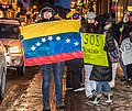 Demonstrations and protests in Venezuela in 2019 in Quebec city, Canada 05.jpg