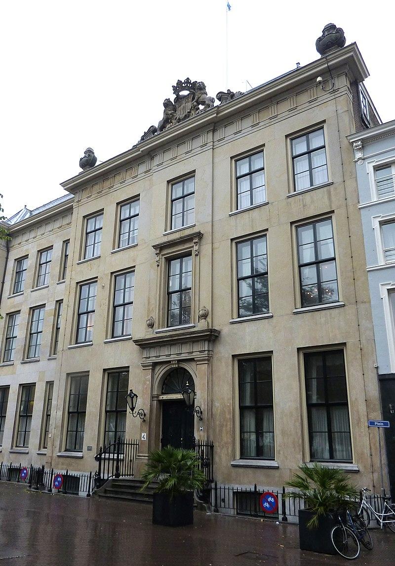 gebouw ministerie van justitie