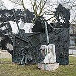 Denkmale Dammtordamm (Hamburg-Neustadt).Mahnmal gegen den Krieg.Hamburger Feuersturm.12023.ajb.jpg