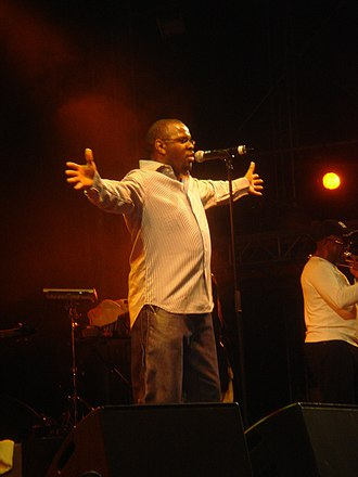 Musical Youth - Dennis Seaton performing in Austria in 2005