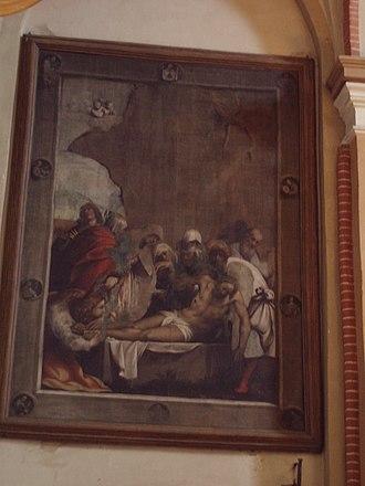 Cortemaggiore - Image: Deposizione di Cristo, Il Pordenone