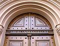 Details und Schriftzug am Portal Oberlandesgericht Celle, Schlossplatz 2.jpg