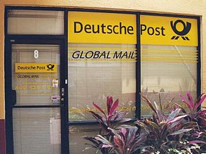Extraterritorial Office of Exchange - An Extraterritorial Office of Exchange operated by Deutsche Post near Miami International Airport.