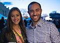 Deya and Nan at San Antonio Current Flavor Party, San Antonio Museum of Art (2015-03-12 18.57.47 by Nan Palmero).jpg