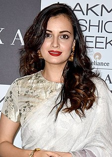 Dia Mirza on Day 2 of Lakme Fashion Week 2017.jpg