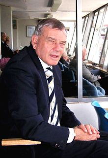 Dickie Bird at Headingley in 2006