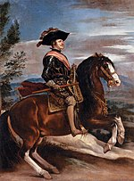 Diego Velázquez - Portrait of Philip IV of Spain on Horseback - WGA24412.jpg