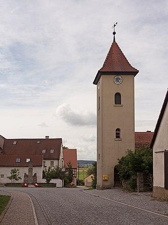Dietersheim - Image: Dietersheim, Kirche in der Hauptstrasse foto 8 2016 08 05 16.19