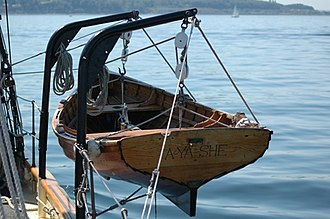 Dinghy - Dinghy of the schooner Adventuress