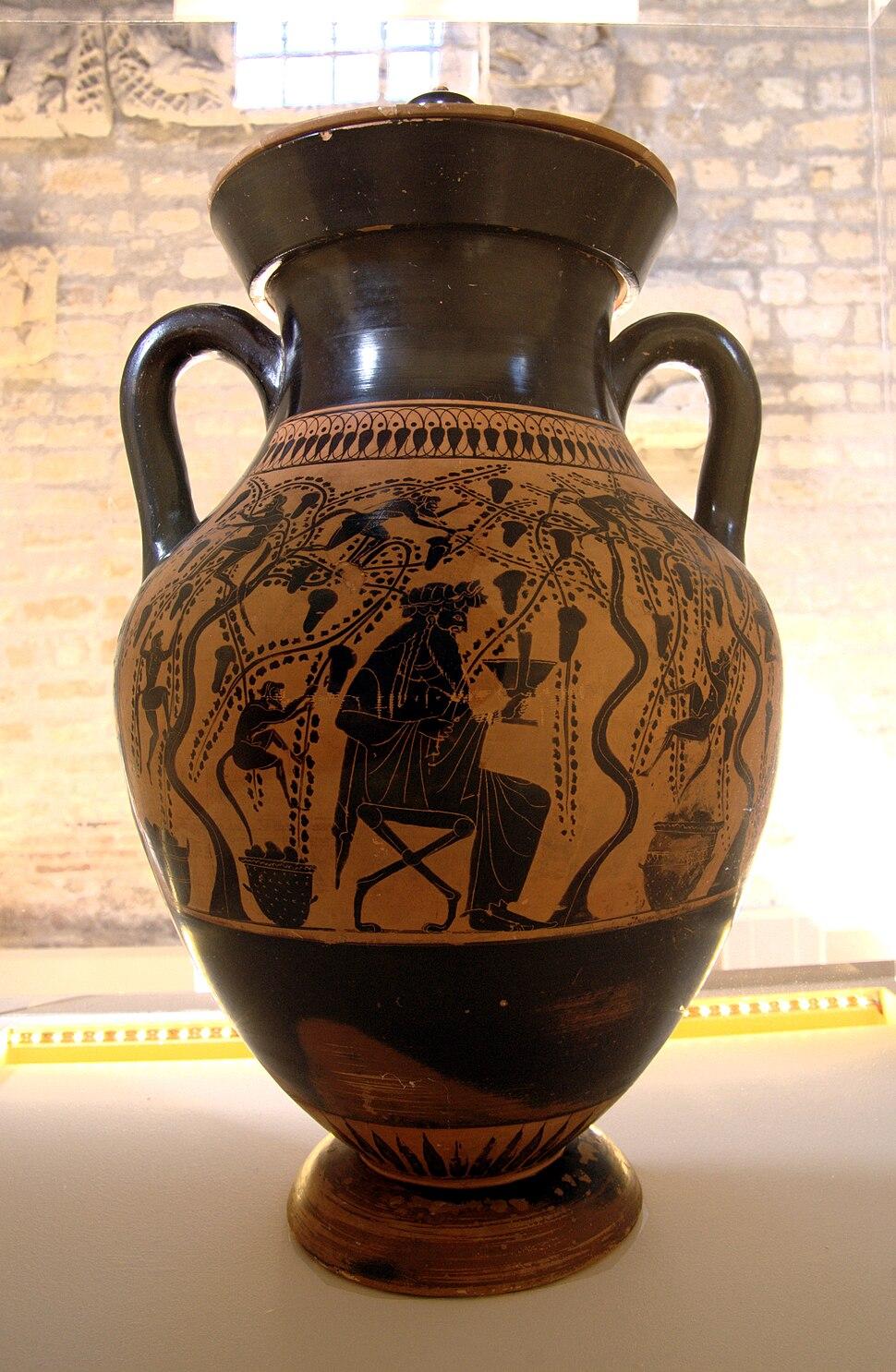 Dionysos vineyard MNE Villa Giulia 106463