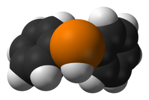 Diphenylphosphine - Image: Diphenylphosphine 3D vd W