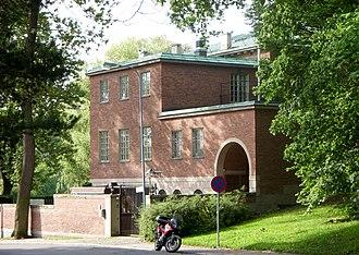 """United States Ambassador to Sweden - The residence (""""Villa Åkerlund"""") of the U.S. Ambassador in Stockholm, Sweden."""