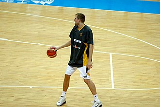 Dirk Nowitzki - Nowitzki played for the German national basketball team from 1997 to 2015.