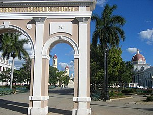 Historic Centre of Cienfuegos - Central Park José Marti