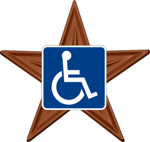 English: Barnstar for WikiProject Disability