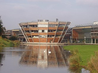 Michael Hopkins (architect) - Image: Djanogly Library, Jubilee Campus, Nottingham University
