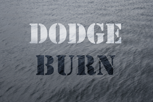 An example of dodge & burn effects applied to a digital photograph.