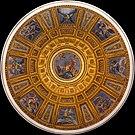 Dome Cappella Chigi from inside, Santa Maria del Popolo, Rome, Italy.jpg
