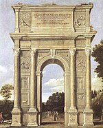 Domenichino - A Triumphal Arch of Allegories - WGA06409.jpg